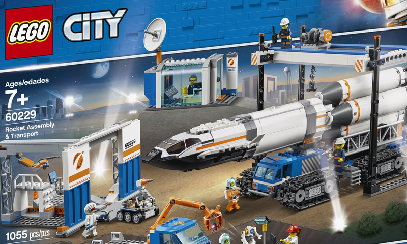 LEGO ® City 60227 Lune station spatiale