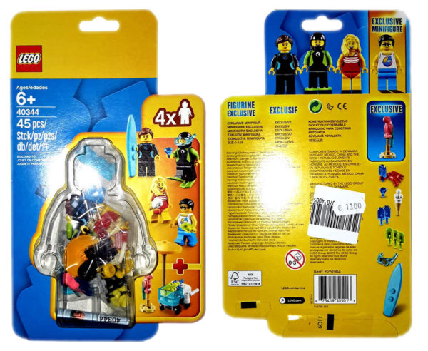 More Upcoming LEGO Minifigure Packs for Ninjago (40342) and City (40344) Revealed