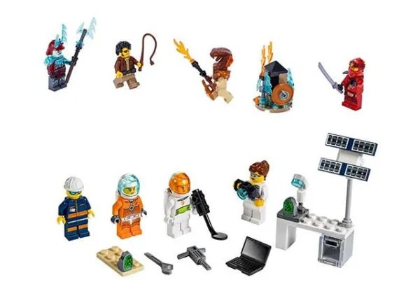 Another LEGO City Minfiigure Pack (40345) Adds More People, Stuff to Space Exploration Sets