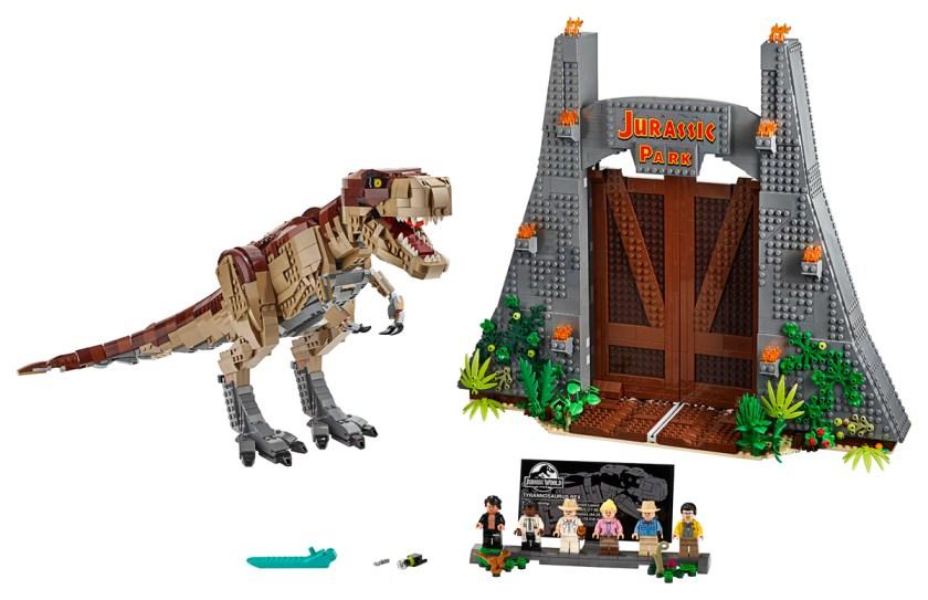 Jurassic Park: T. rex Rampage (75936)