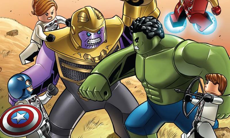 Free LEGO Avengers: Endgame Art Print for VIP Members