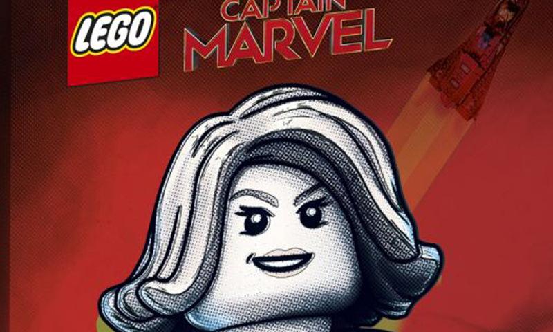 SDCC 2019 LEGO Exclusive Captain Marvel and the Asis (77902) Revealed