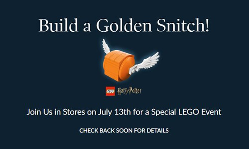 LEGO Harry Potter Golden Snitch