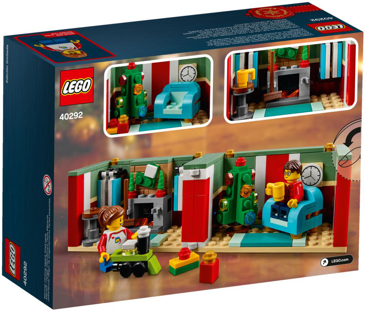 Lego Christmas Gift Box 40292 Promotional Set Still Up