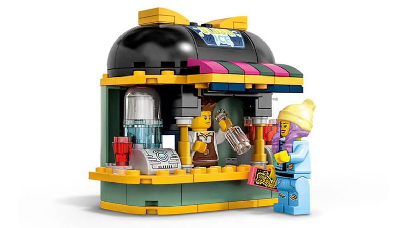 LEGO Hidden Side Newbury's Juice Bar (40336) Set Images Revealed