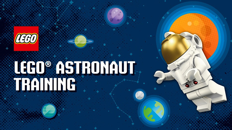 LEGO Astronaut Training In-Store Event Happening at the LEGO Store Leicester Square