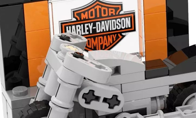 LEGO Harley Davidson Mini-build