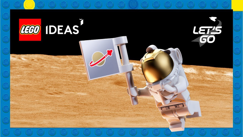 LEGO Ideas From The Moon to Mars Building Contest Launched