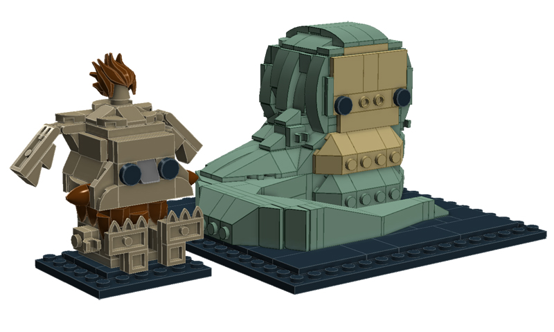 LEGO BrickHeadz Jabba the Hut and Salacious Crumb (75232) Rumored for 2020