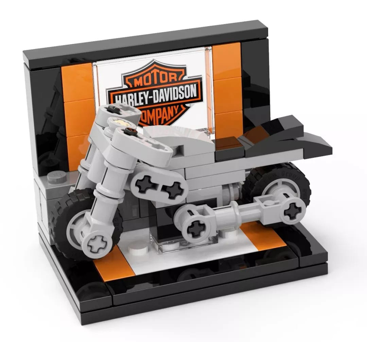 Create Your Own LEGO Harley-Davidson Mini-Build With These Building Instructions
