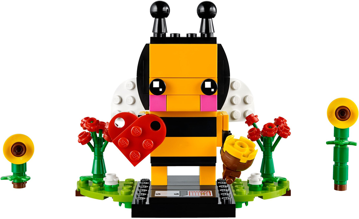 LEGO 40270 Brickheadz Valentine Bee Seasonal Retired New /& Sealed FREE POST