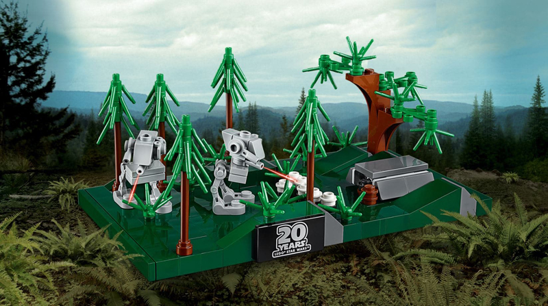 LEGO Star Wars Battle of Endor 20th Anniversary Edition (40362) Revealed!