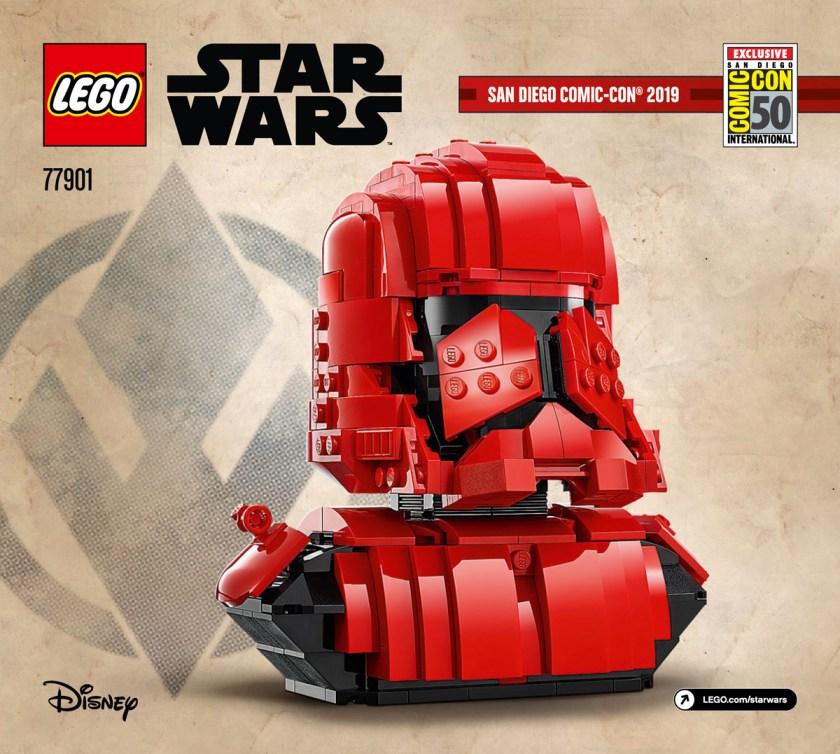 LEGO SDCC 2019 Exclusive Sets