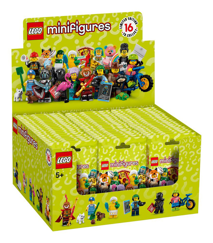 WATCH: A Closer Look at the LEGO CMF Series 19 (71025) Box Distribution