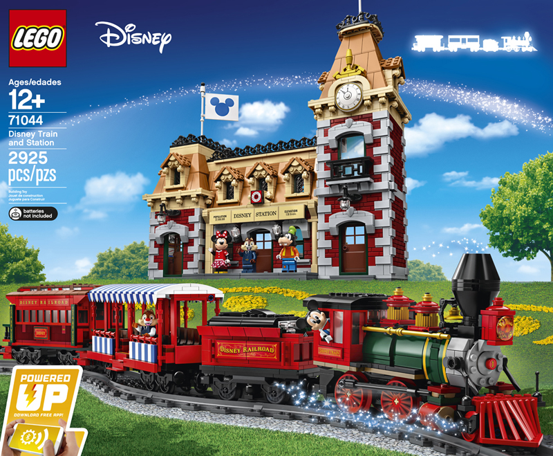 LEGO Disney Train and Station (71044) Revealed!