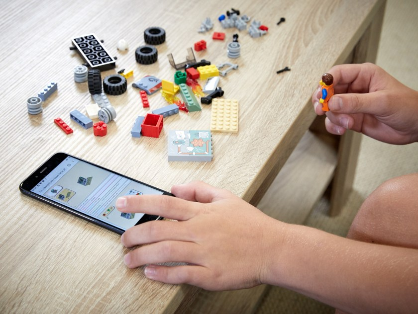 LEGO Audio and Braille Building Instructions