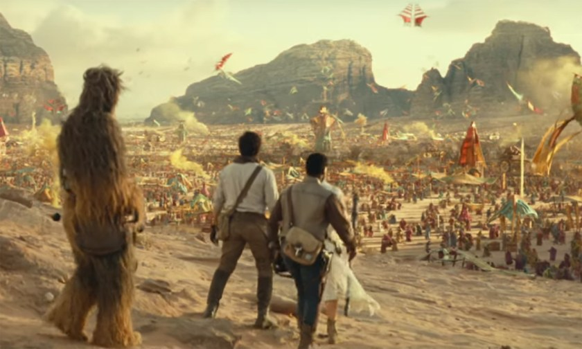 Star Wars: The Rise of Skywalker D23 trailer