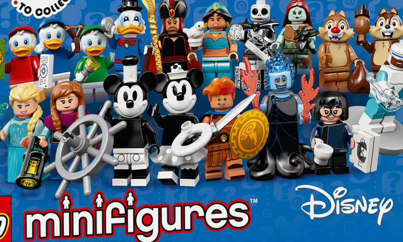 LEGO Disney Collectible Minifigures Series 2