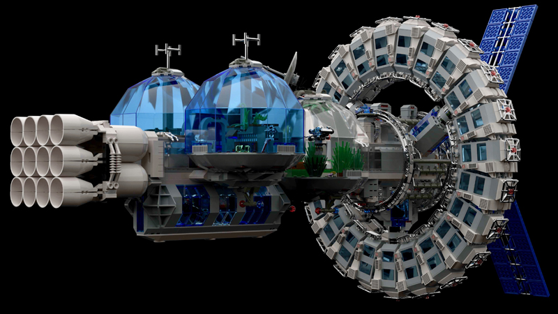 Check Out The Winners For the LEGO Ideas Moon to Mars Building Contest