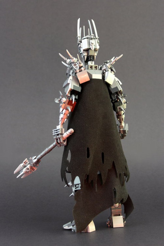 This Custom LEGO Lord of the Rings Sauron Bids For You To ...