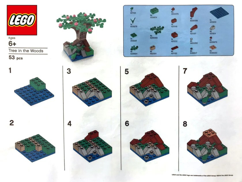 LEGO Tree In The Woods