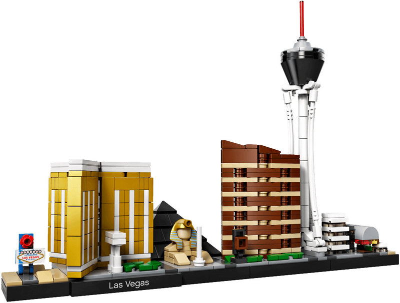 A Look At The Set That Never Was (Supposedly) – The LEGO Architecture Las Vegas (21038)