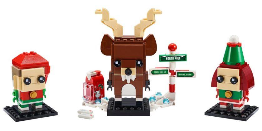 Reindeer, Elf & Elfie (40353)