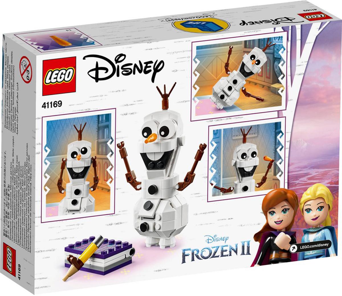 Olaf Brick Headz New Disney Frozen 2 IN-HAND US SELLER LEGO 41169