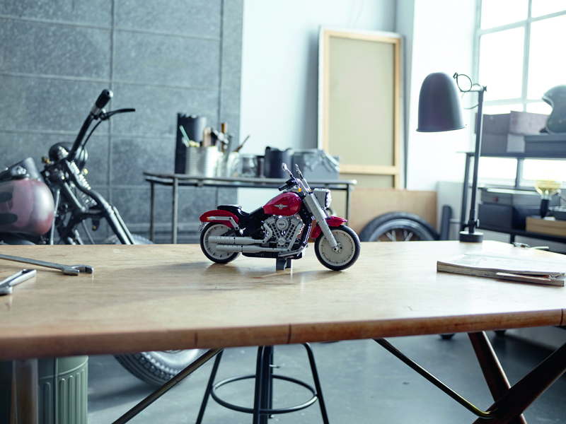 Futuristic LEGO Harley-Davidson Bike