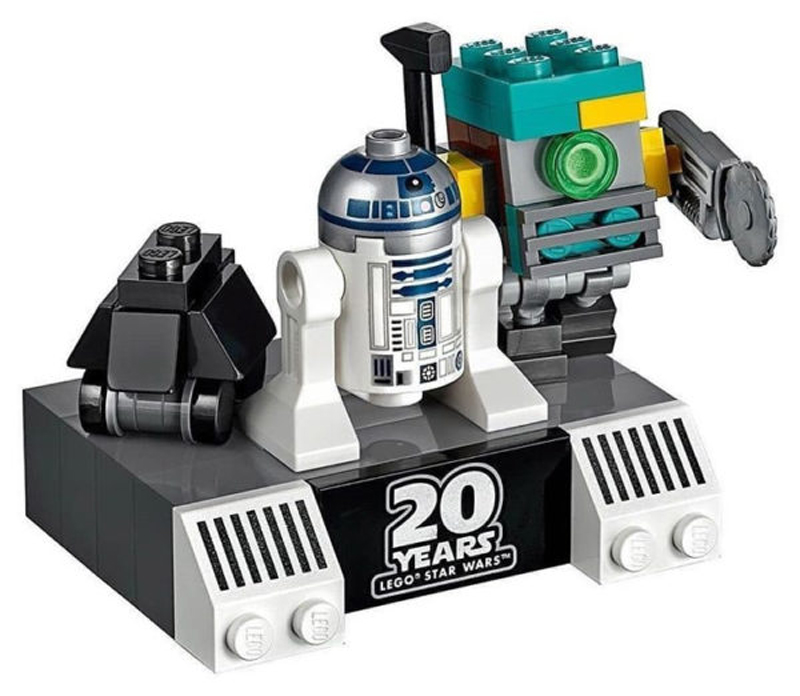 Build Your Own LEGO Star Wars Mini Droid Commander (75522)