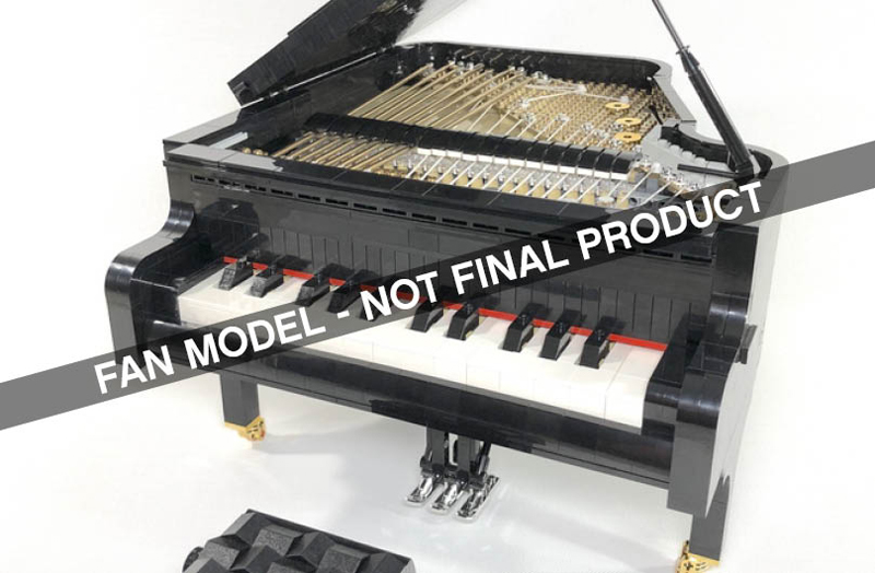 Playable Piano Slated To Be the Next LEGO Ideas Set
