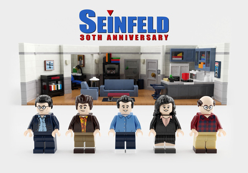 LEGO Ideas Seinfeld 30th Anniversary Product Idea Qualifies for Third 2019 Review Stage