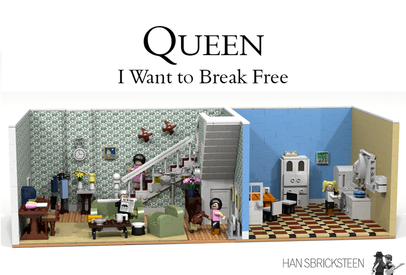 The Queen: I Want to Break Free