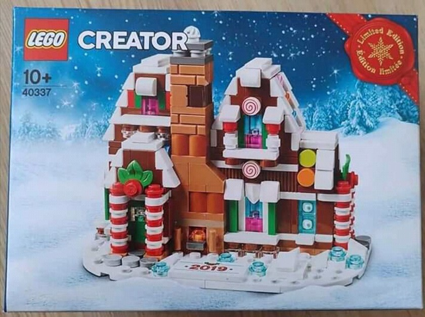 Mini Gingerbread House (40337)