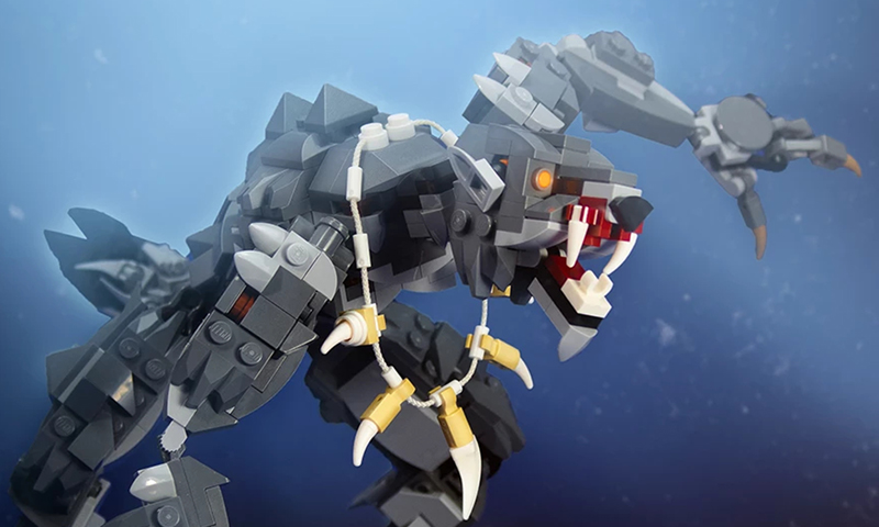Check Out This Double Monster Trouble From Build Better Bricks