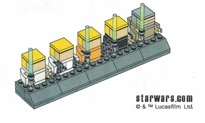 Create Your Own LEGO Star Wars Luke Skywalker Timeline With These Building Instructions