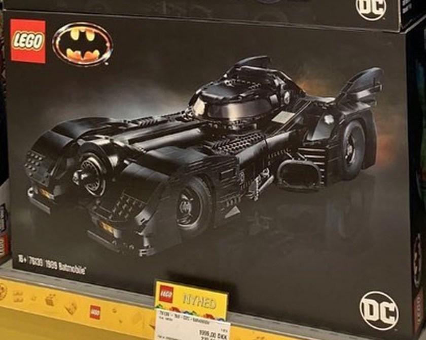 LEGO Batman 1989 Batmobile