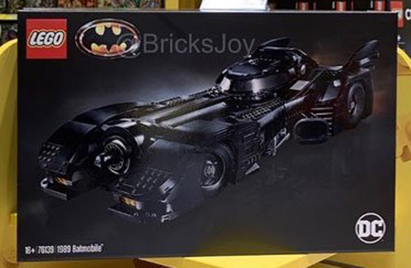 LEGO Batman 1989 Batmobile (76139) Spotted at the LEGO Store in Billund Airport