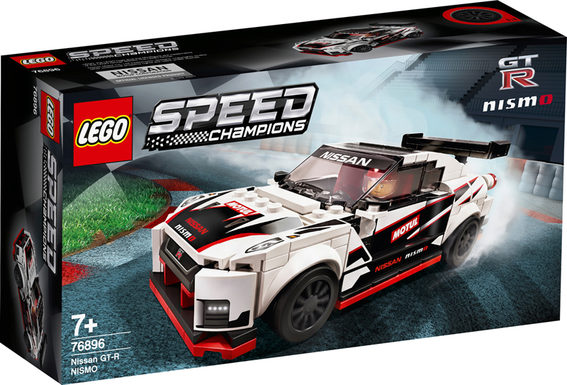 LEGO Speed Champions Nissan GT-R Nismo (76896) Arriving in 2020