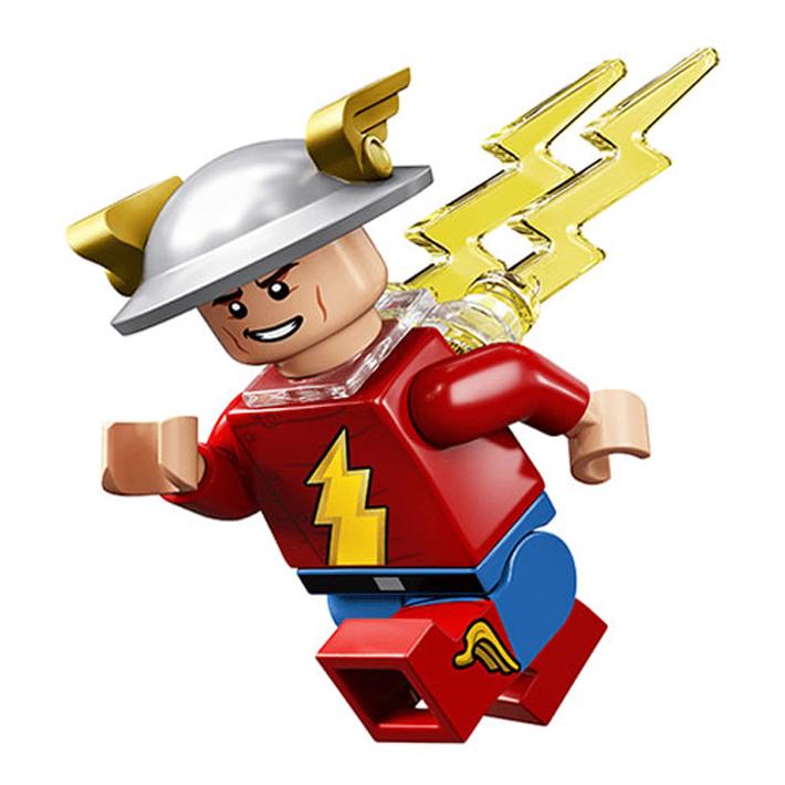 JAY GARRICK Classic Flash DC Comics Block Minifigure **NEW** Custom Printed