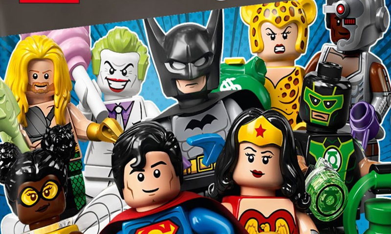LEGO DC Comics Collectible Minifigures (71026) First Official Images Released