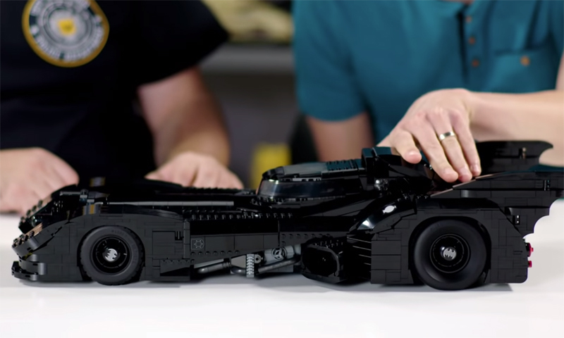 This LEGO 1989 Batmobile (76139) Designer Video Reveals How Impressive This Set Actually Is