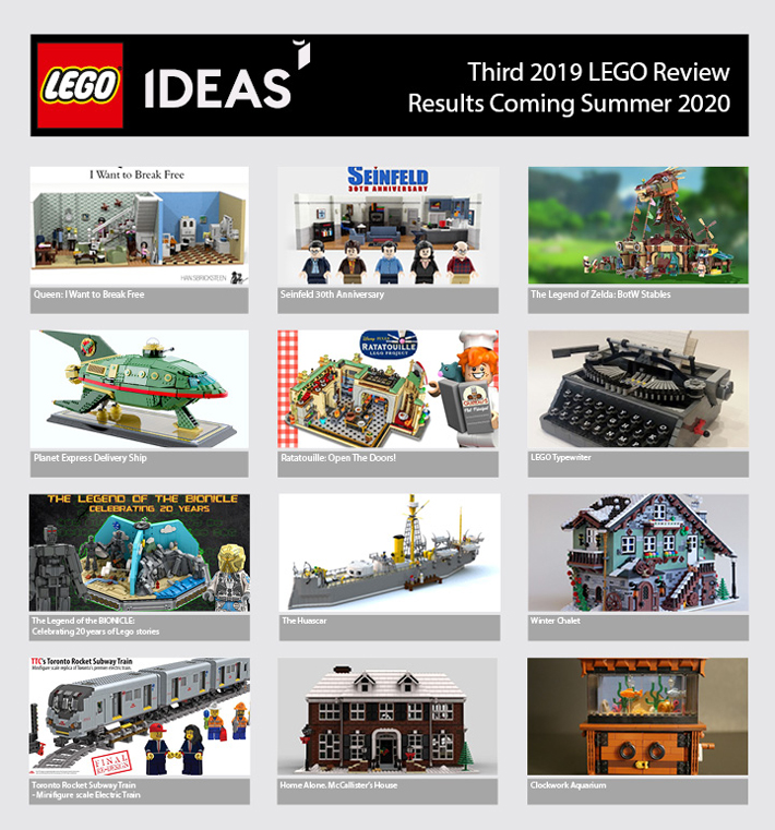 Third 2019 LEGO Ideas