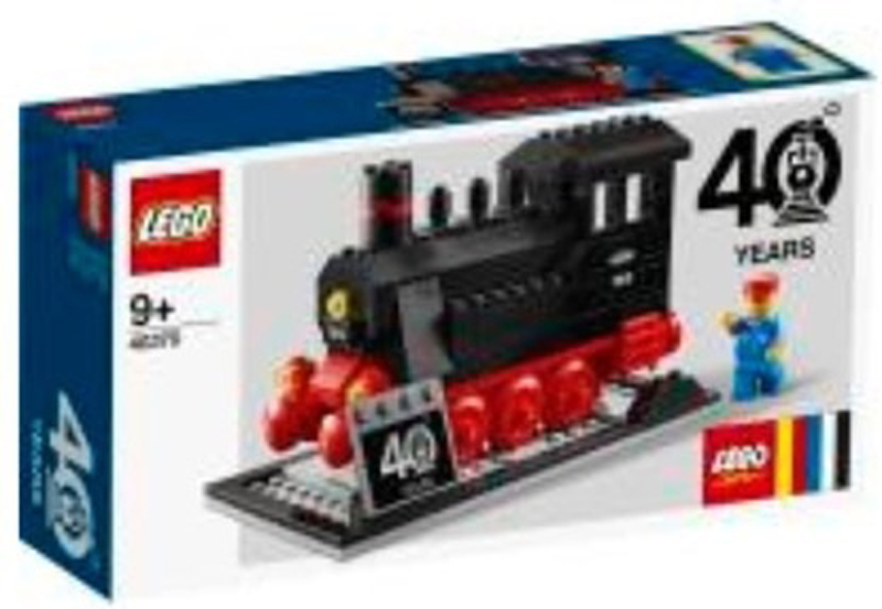 Upcoming LEGO Train (40370) Set Celebrates the Theme's 40th Anniversary