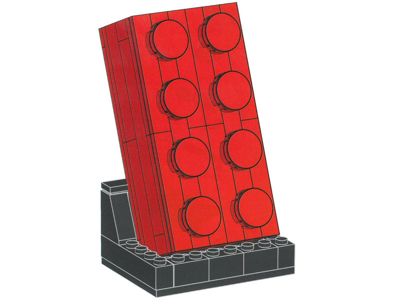 Here's Your Chance to Build Your Own LEGO VIP Exclusive Buildable Red Brick (5006085)