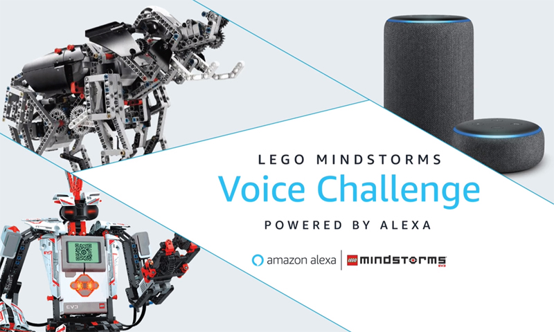 Winners of the $100,000 LEGO Mindstorms Voice Challenge Announced