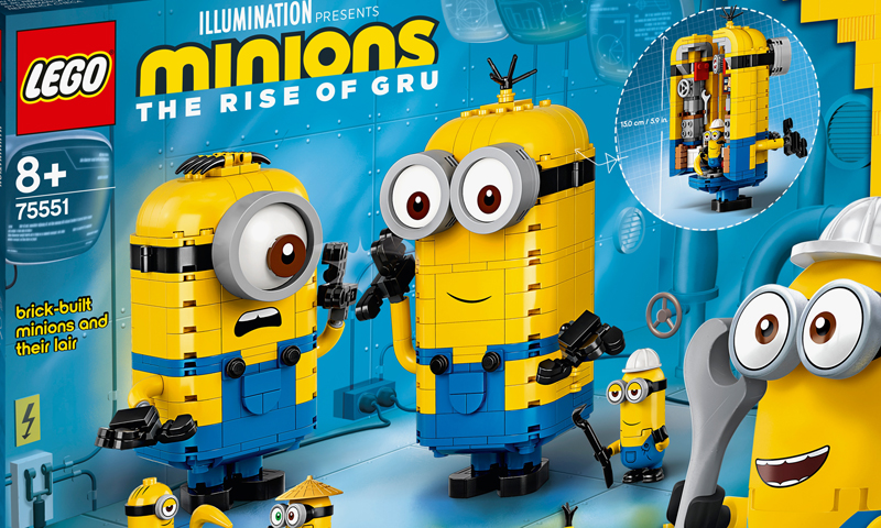 LEGO Minions Official Images Released, Will Be Available in April