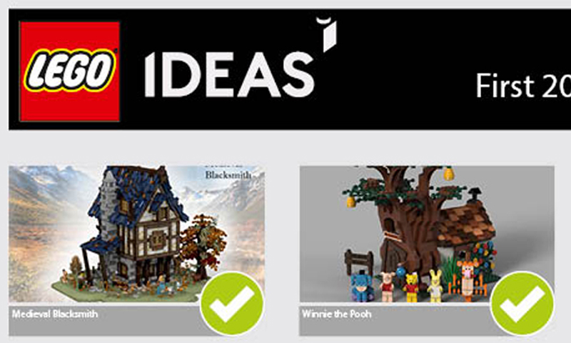 LEGO Ideas 2019 Second Review Stage Results Are In: Two New Sets Coming