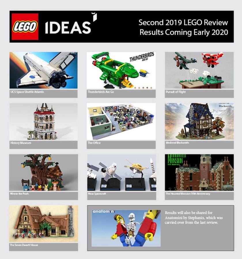 2019 LEGO Ideas Review