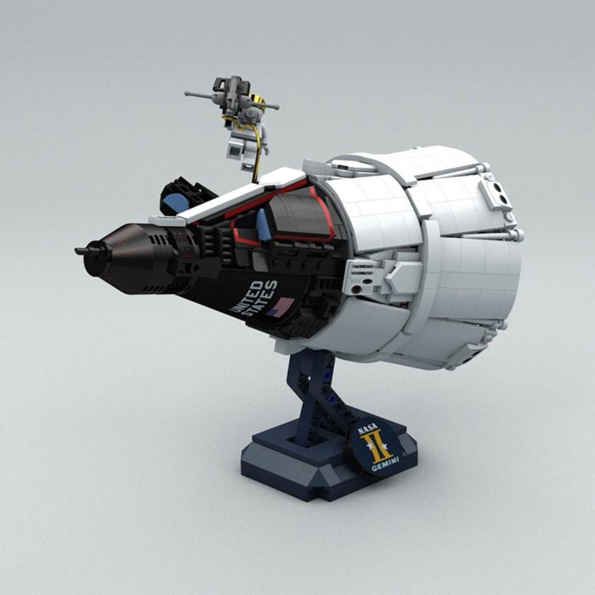 Mini-fig Scale Project Gemini